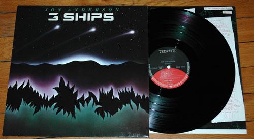 Jon  Anderson (Yes) - 3 Ships - Elektra 960469 Germany LP