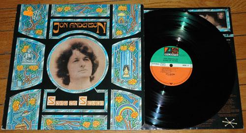Jon  Anderson (Yes) - Songs of Seven - Atlantic  Germany LP