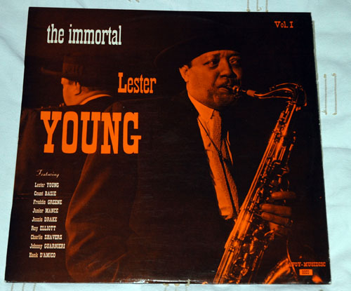 Lester Young - The Immortal volume I - Savoy Musidisc 6003 France LP