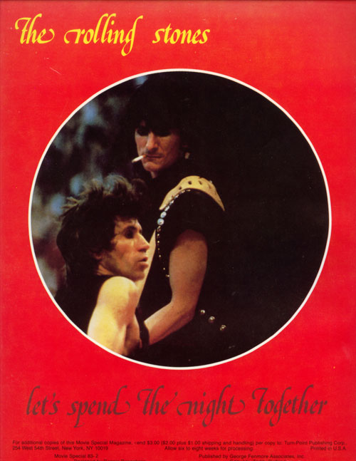 The Rolling Stones - Let's Spend the Night Together -  Movie Special 83-2 USA program