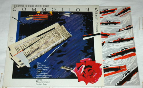 Lloyd Cole and the Commotions - Easy Pieces - Polydor 827670-1 France LP