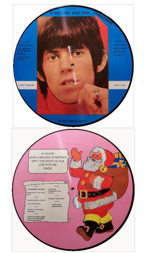 The Rolling Stones - A Picture Disc For Christmas -  SC-005 France LP