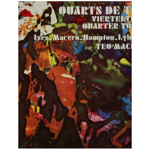 Ives - Macero - Hampton - Lybbert - Teo Macero - Quarts de Ton - CBS Music of Our Time S34-61143 France LP