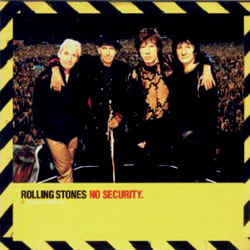 The Rolling Stones - No Security - Virgin CDVDJ 2880 UK CDS