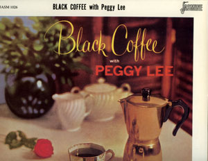 Peggy Lee - Black Coffee - MCA JASM 1026 UK LP