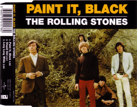 The Rolling Stones - Paint It, Black - Universal 0600753015780 Europe CDS