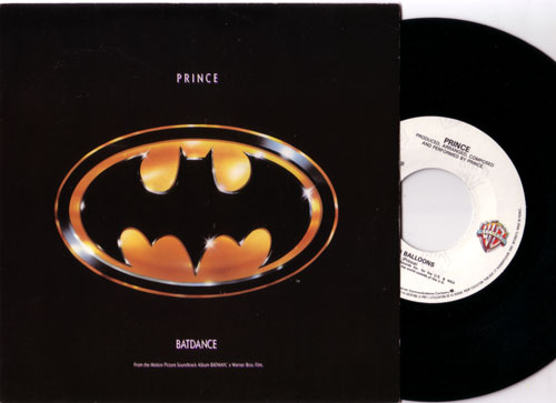 PRINCE - Batdance - 45T (SP 2 titres)
