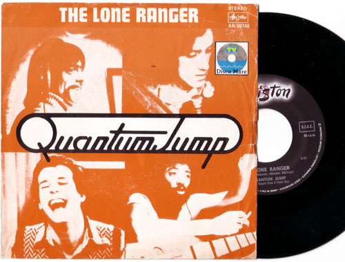 "Quantum Jump - The Lone Ranger - Ariston AR 00746 Italy 7"" PS"