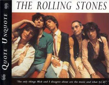 The Rolling Stones - Quote Unquote -   USA book
