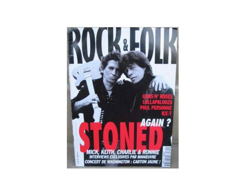 The Rolling Stones - Rock & Folk #325 -   France mag