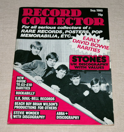 The Rolling Stones - Record Collector  -  #13 UK mag