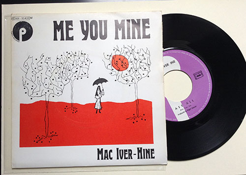 "Rupert Hine - Me You Mine - EMI 2C 006 93430 France 7"" PS"