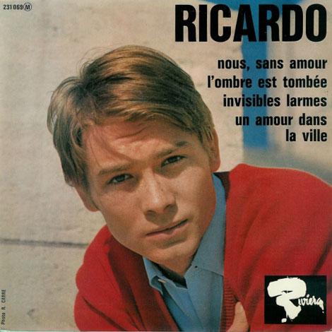 """Ricardo - Nous, Sans Amours +3 - Riviera 231069 France 7"""" EP"""
