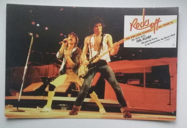 The Rolling Stones - Rocks Off promo post card -   Germany postcard
