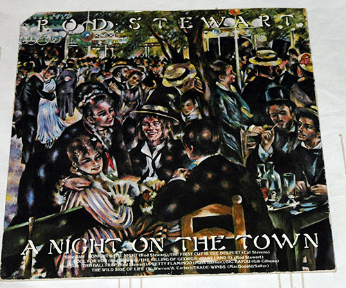 Rod Stewart - A Night On The Town - Warner Brothers 56234 France LP
