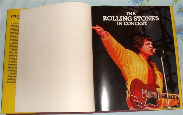 The Rolling Stones - The Rolling Stones in Concert -   UK book