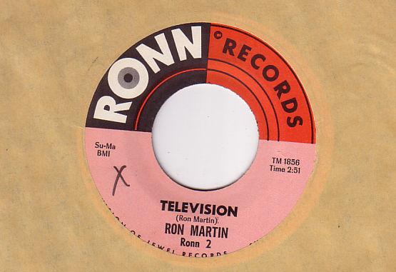 """Ron Martin - Television - RONN RONN2 USA 7"""""""