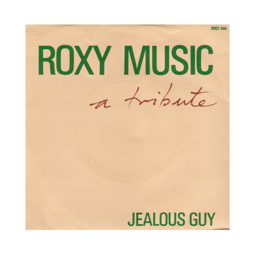 """Roxy Music - A Tribute - Polydor 2002040 France 7"""" PS"""