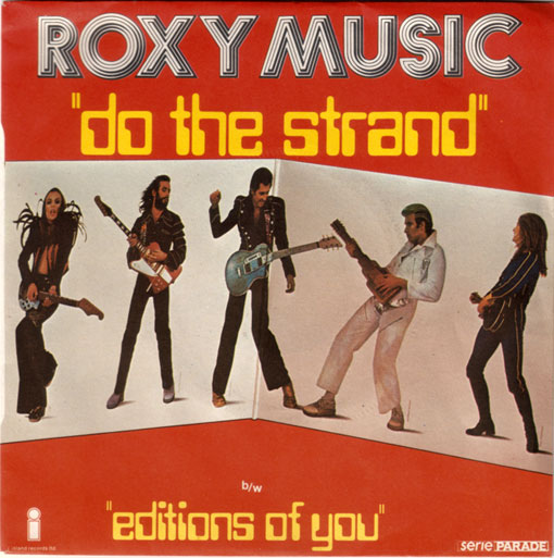 "Roxy Music - Do The Strand - Island 6138031 France 7"" PS"