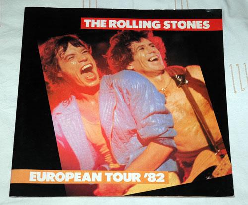 The Rolling Stones - Program -   Europe program