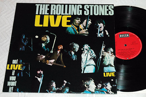The Rolling Stones - Got Live If You Want It! - Decca 6.22429 AO Germany LP