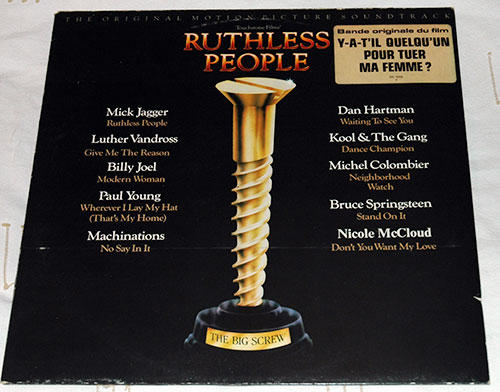V/A Mick Jagger, Billy Joel, Machinations, Luther Ruthless People OST  Soundtrack