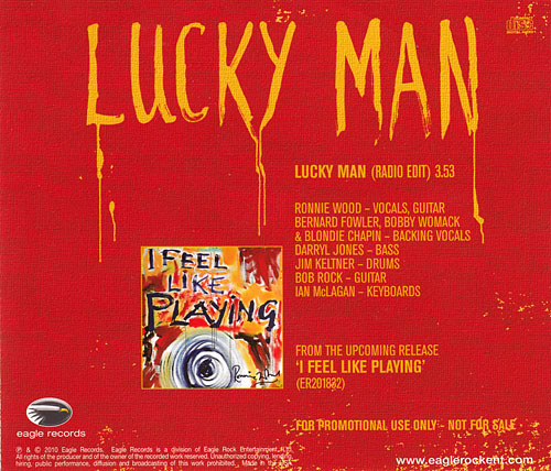 Ron Wood - Lucky Man - Eagle Records CDPRO201832 USA CDS