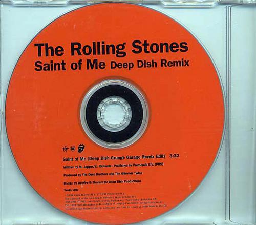 The Rolling Stones - Saint of Me (Deep Dish remix) - Virgin VSCDJX 1667 UK CDS