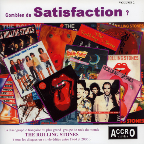 The Rolling Stones - Satisfaction - vol.2 -   France book
