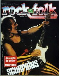 Scorpions - Rock & Folk #206 -   France mag