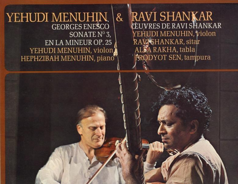 Ravi Shankar - w/ Yehudi Menuhin - EMI CVB 1925 France LP