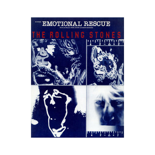 The Rolling Stones - Emotional Rescue -   USA sheet music
