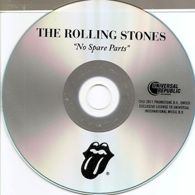 The Rolling Stones - No Spare Parts - Universal D31280105080210LH USA CDS