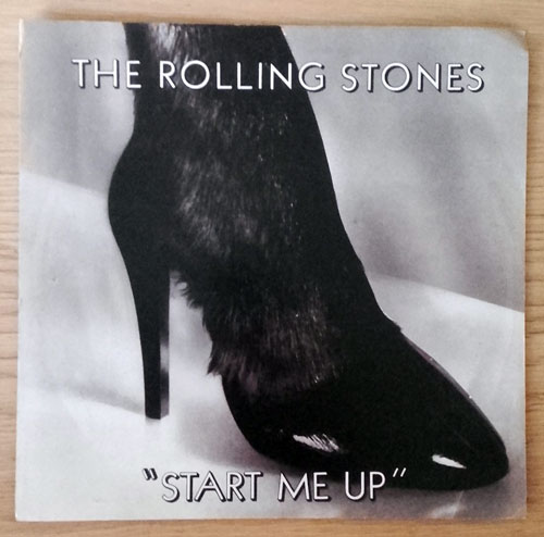 "The Rolling Stones - Start Me Up - EMI 21003 Canada 7"" PS"