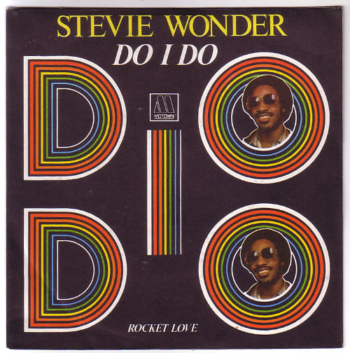 "Stevie  Wonder - Do I Do - Motown 101658 France 7"" PS"