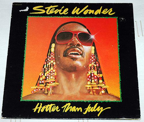Stevie  Wonder - Hotter Than July - EMI 2C 070 64121 France LP