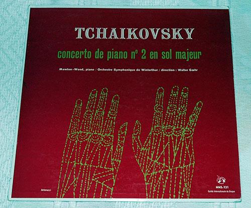 """Tchaikovsky - Concerto de Piano N°2 En Sol Majeur - Guilde Internationale du Disque MMS 131 France 10"""""""