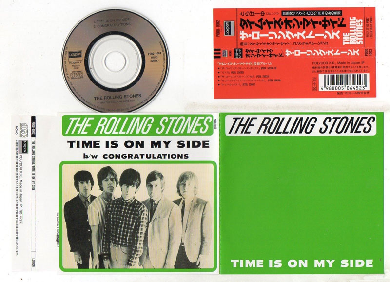 The Rolling Stones - Time Is On My Side - London PODD-1002 Japan CDS
