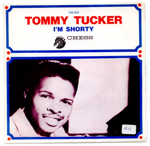 """Tommy  Tucker - Sitting Home Alone - Chess 169.509 France 7"""" PS"""