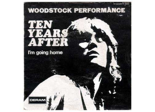 """Ten Years After - I'm Going Home - Deram HP 17023 France 7"""" PS"""