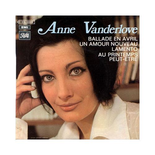Vanderlove, Anne - Ballade En Avril + 3 - 45T EP 4 titres