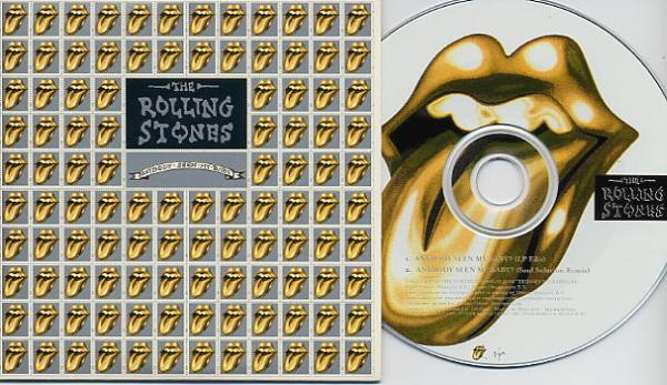 The Rolling Stones - Anybody Seen My Baby - Virgin VSCDJ 1653 UK CDS