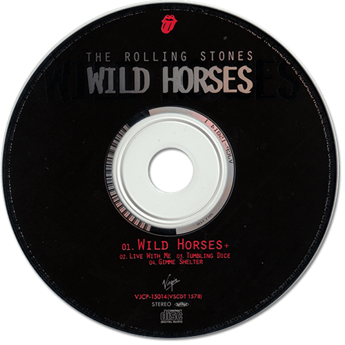 The Rolling Stones - Wild Horses - Virgin VJCP-15014 Japan CDS