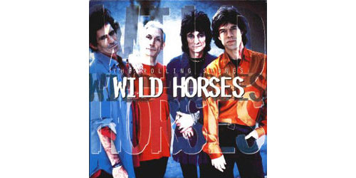 The Rolling Stones - Wild Horses - Virgin VSCDJ 1578 UK CDS