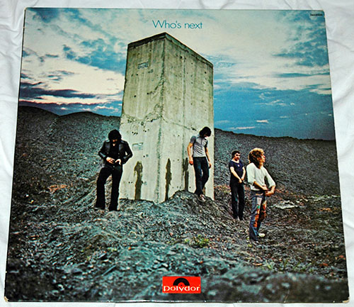 The Who - Who's next - Polydor 2484026 France LP