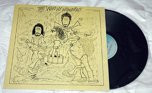 The Who - By Numbers - MCA 37002 Canada LP