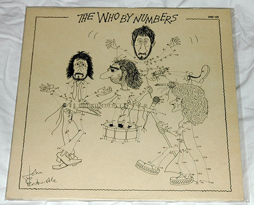The Who - By Numbers - Polydor 2490129 France LP