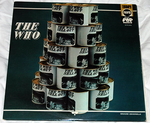 The Who - The Who Sell Out - Triumph 2676003 France LPx2