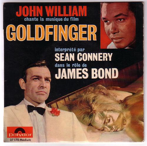 "John William - Goldfinger - Polydor 27170 France 7"" EP"