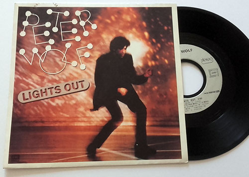 "Peter Wolf - Lights Out - EMI 202597 France 7"" PS"